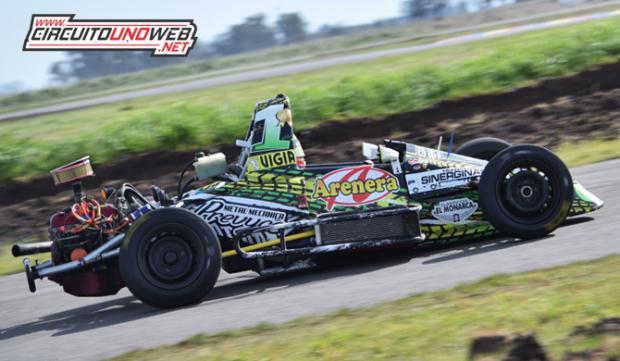 Natalio Jugón con Jesús Carballo ganaron en la carrera especial de la Fórmula