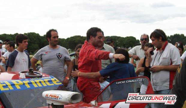 Lucio Cinalli retorna en Laprida a Mar y Sierras A
